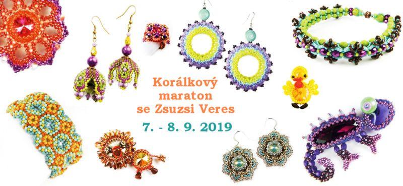 Korálkový maraton se Zsuzsa Veres 7. 9. 2019 SO