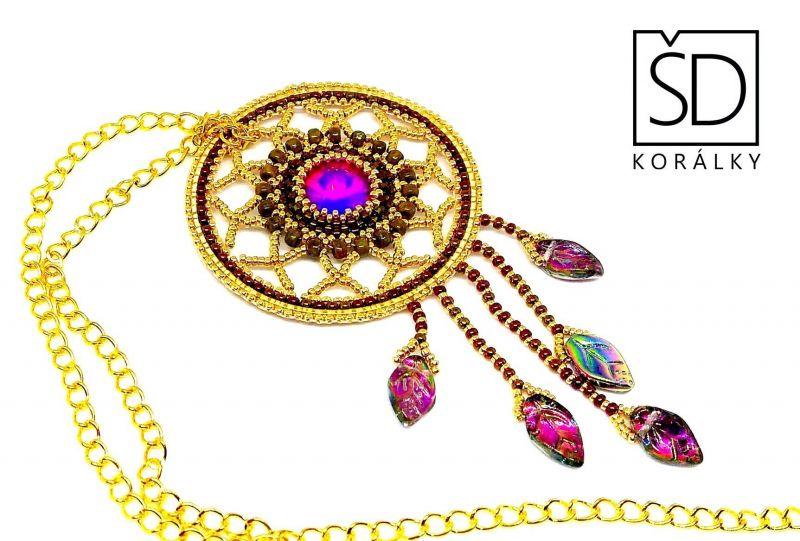 č.7975: Šitý šperk Indiánské léto 24. 9. 2019 ÚT