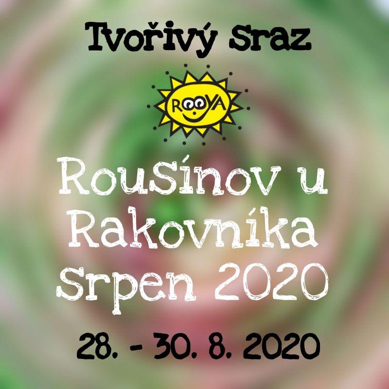 č.8033: Tvořivý sraz s Rooyou v Rousínově u Rakovníka 28. 8. 2020 PÁ