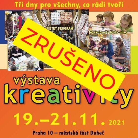 Výstava kreativity Dubeč podzim 2021 19. 11. 2021 PÁ